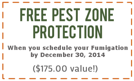 Free Pest Zone Activation